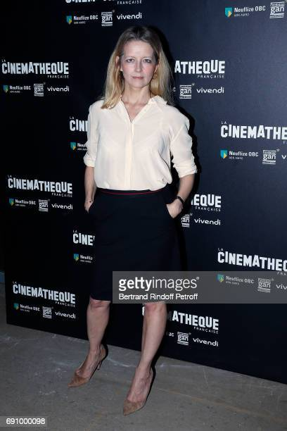 Actress Laure Marsac attends 'Vincent Lindon Retrospective' at la Cinematheque on May 31 2017 in Paris France