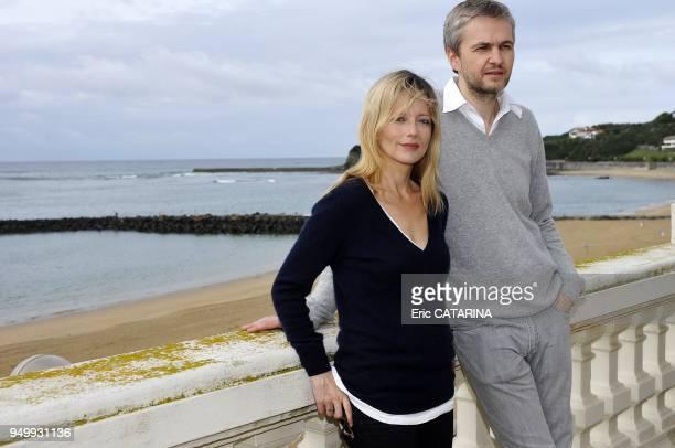 Actress Laure Marsac with her boyfriend actor and director Ivan Taieb