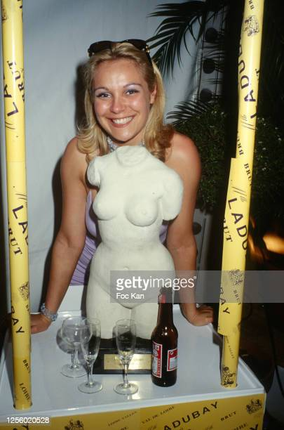Actress Laure Sainclair attends the 52nd Cannes Film Festival in May 1999 in Cannes France