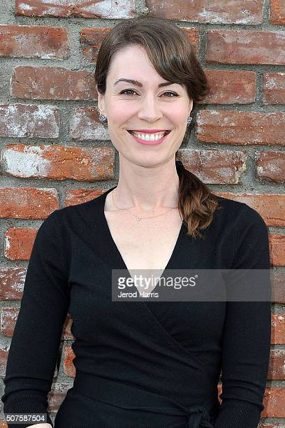 Actress Laurel Coppock attends the grand opening and ribbon cutting ceremony of The Groundlings new school facility at The Groundlings School on...