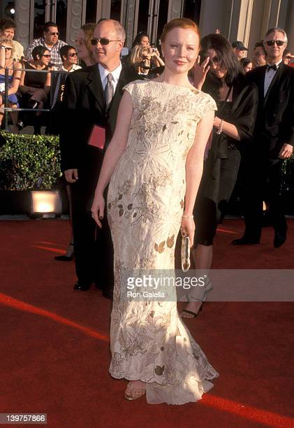 Actress Lauren Ambrose attends Eighth Annual Screen Actors Guild Awards on March 10 2002 at the Shrine Auditorium in Los Angeles California