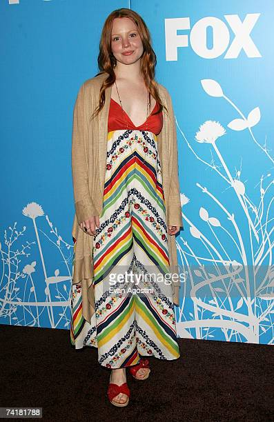 Actress Lauren Ambrose attends the FOX 2007 Programming presentation at the Wollman Rink in Central Park on May 17 2007 in New York City