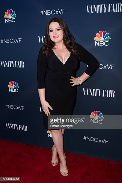 Actress Lauren Ash arrives at 'NBC and Vanity Fair toast the 20162017 TV Season' at NeueHouse Hollywood on November 2 2016 in Los Angeles California