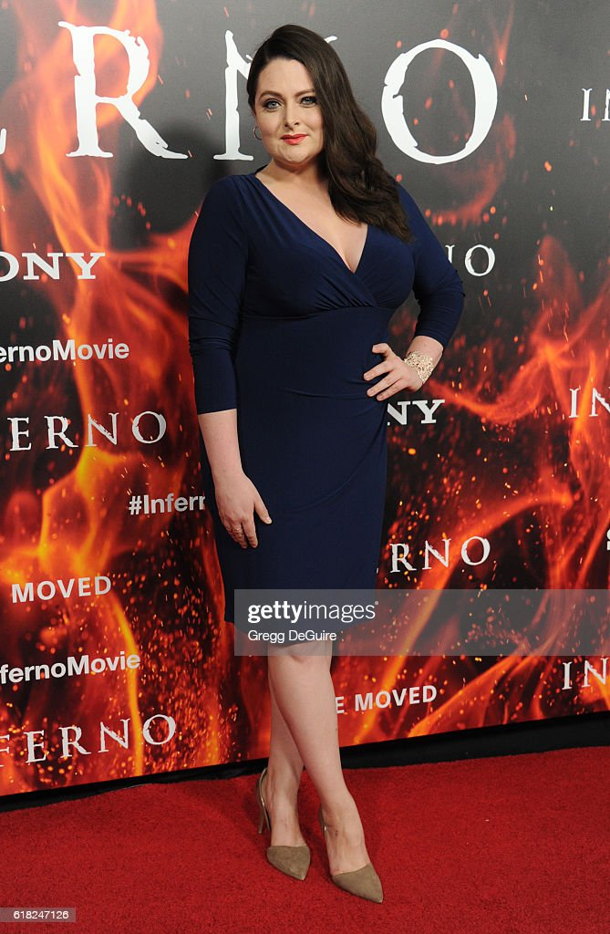 Actress Lauren Ash arrives at the screening of Sony Pictures Releasing's 'Inferno' at DGA Theater on October 25, 2016 in Los Angeles, California.