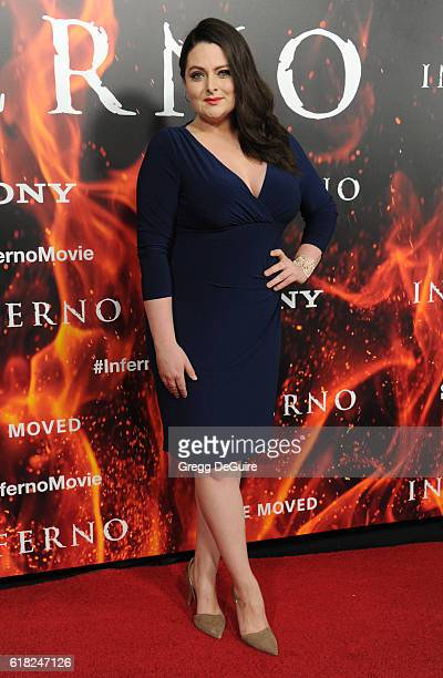 Actress Lauren Ash arrives at the screening of Sony Pictures Releasing's 'Inferno' at DGA Theater on October 25 2016 in Los Angeles California
