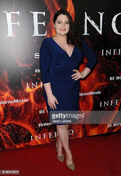 Actress Lauren Ash attends a screening of 'Inferno' at DGA Theater on October 25 2016 in Los Angeles California