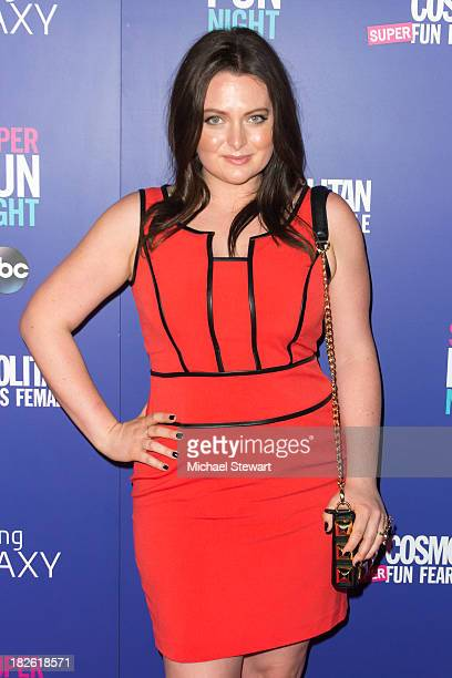 Actress Lauren Ash attends Cosmopolitan's Super Fun Night With Rebel Wilson And Joanna Coles at Hearst Tower on October 1 2013 in New York City