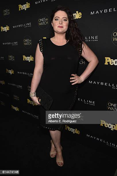 Actress Lauren Ash attends People's Ones to Watch event presented by Maybelline New York at EP LP on October 13 2016 in Hollywood California