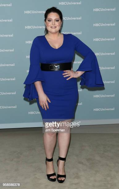 Actress Lauren Ash attends the 2018 NBCUniversal Upfront presentation at Rockefeller Center on May 14 2018 in New York City