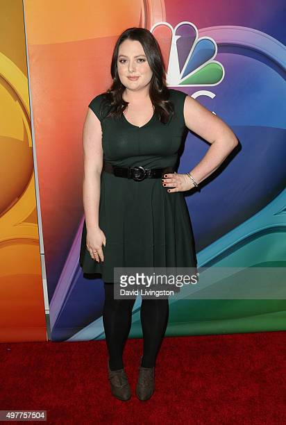 """Actress Lauren Ash attends the NBC Comedy Press Junket for """"Telenovela"""" and """"Superstore"""" at Universal Studios Hollywood on November 18, 2015 in..."""