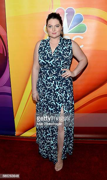 Actress Lauren Ash attends the NBCUniversal press day during the 2016 Summer TCA Tour at The Beverly Hilton Hotel on August 2 2016 in Beverly Hills...
