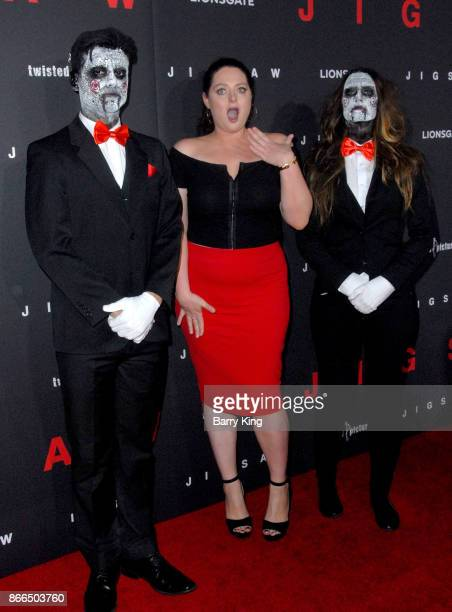 Actress Lauren Ash attends the premiere of Lionsgate's' 'Jigsaw' at ArcLight Hollywood on October 25, 2017 in Hollywood, California.
