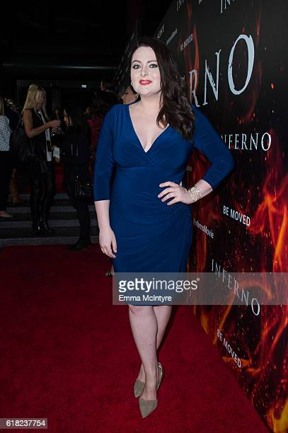 Actress Lauren Ash attends the screening of Sony Pictures Releasing's 'Inferno' at DGA Theater on October 25 2016 in Los Angeles California