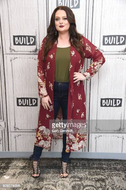"""Actress Lauren Ash visits Build Series to discuss the TV show """"Superstore"""" at Build Studio on March 8, 2018 in New York City."""