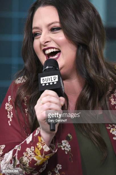 Actress Lauren Ash visits Build Series to discuss the TV show 'Superstore' at Build Studio on March 8 2018 in New York City