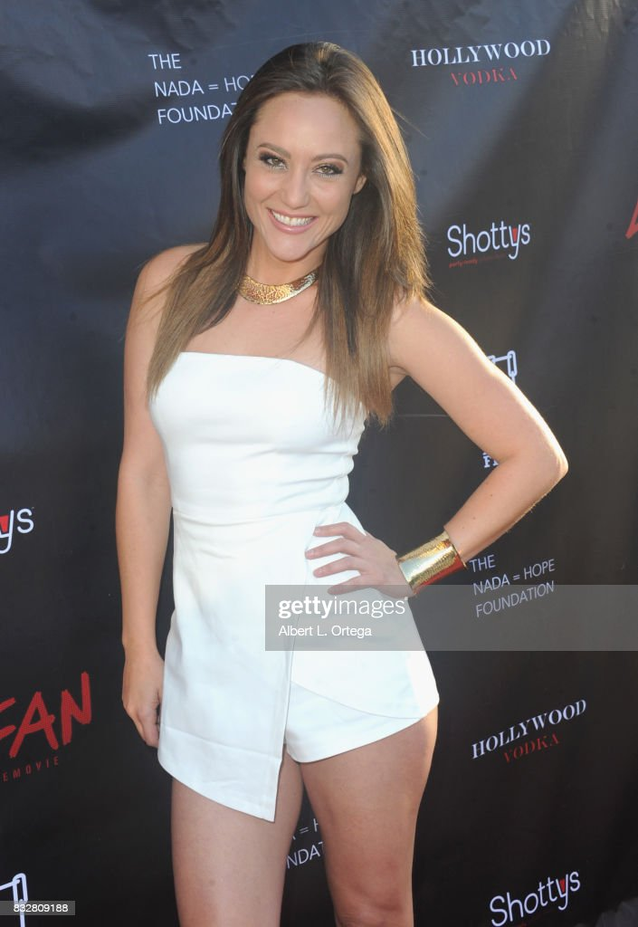 "Actress Lauren C. Mayhew arrives for the Premiere Of Parade Deck's ""Lycan"" held at Laemmle's Ahrya Fine Arts Theatre on August 15, 2017 in Beverly Hills, California."