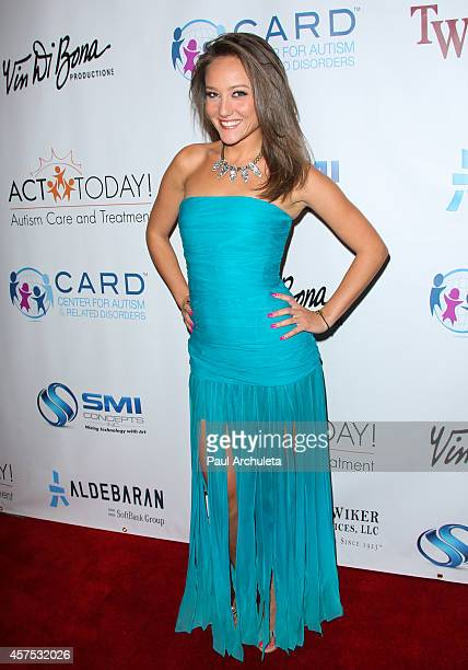Actress Lauren C Mayhew attends the 9th annual Denim Diamonds for Autism on October 19 2014 in Westlake Village California