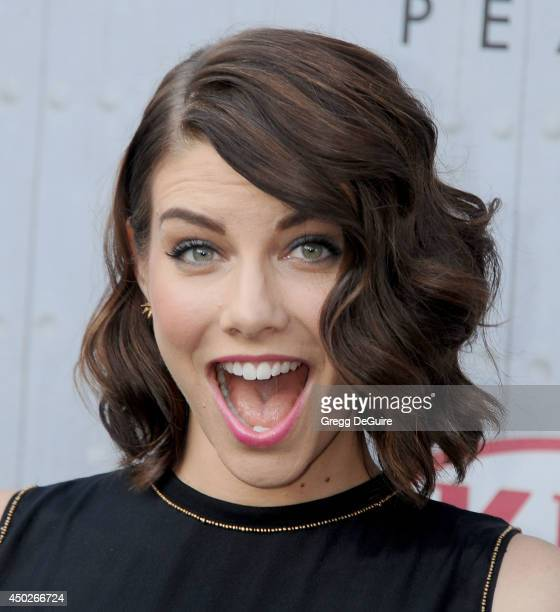 "Actress Lauren Cohan arrives at Spike TV's ""Guys Choice"" Awards at Sony Studios on June 7, 2014 in Los Angeles, California."