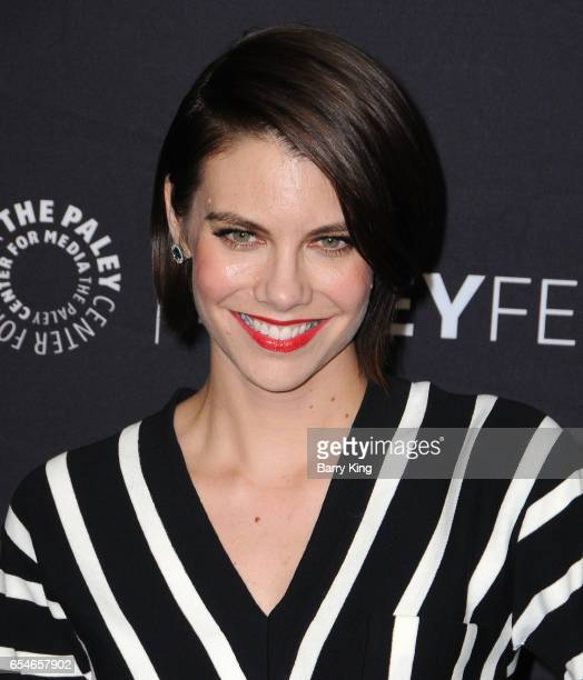 Actress Lauren Cohan arrives at the Paley Center For Media's 34th Annual PaleyFest Los Angeles opening night presentation 'The Walking Dead' at Dolby...