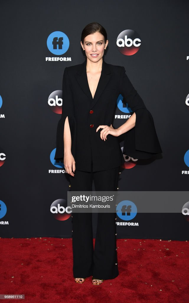 Actress Lauren Cohan attends during 2018 Disney, ABC, Freeform Upfront at Tavern On The Green on May 15, 2018 in New York City.