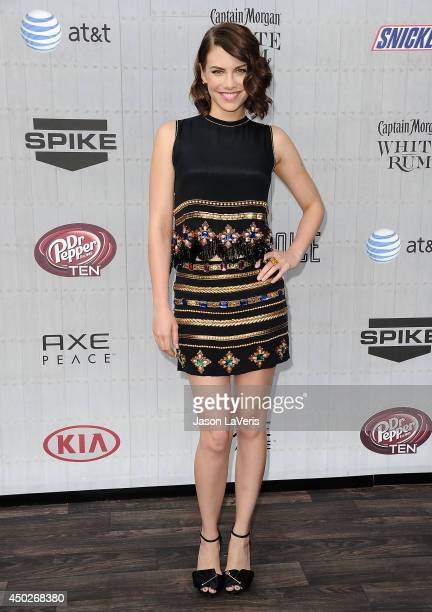 Actress Lauren Cohan attends Spike TV's 'Guys Choice' Awards at Sony Studios on June 7 2014 in Los Angeles California