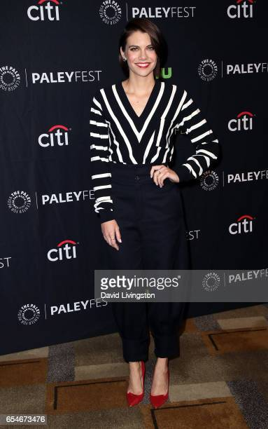 Actress Lauren Cohan attends The Paley Center for Media's 34th Annual PaleyFest Los Angeles opening night presentation of 'The Walking Dead' at Dolby...