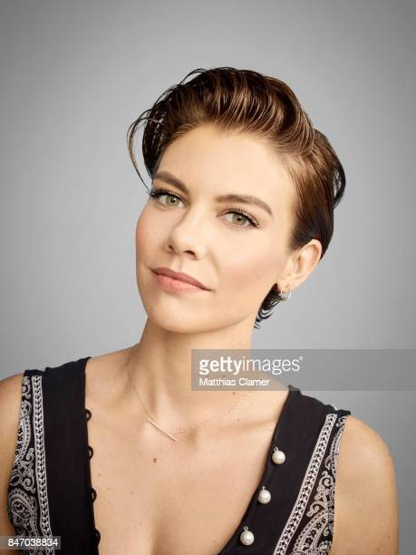 Actress Lauren Cohan from 'The Walking Dead' is photographed for Entertainment Weekly Magazine on July 23 2016 at Comic Con in the Hard Rock Hotel in...