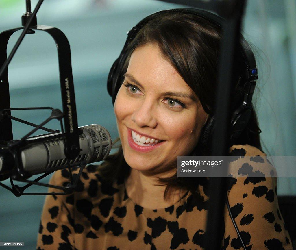 Celebrities Visit SiriusXM Studios - October 10, 2014 : News Photo