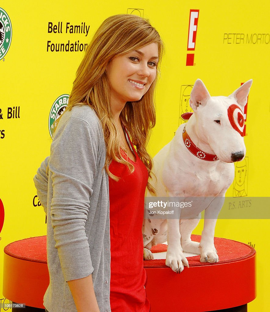 Actress Lauren Conrad arrives at the P.S. Arts 10th Annual Express Yourself Gala at Barker Hanger on November 4, 2007 in Santa Monica, California.