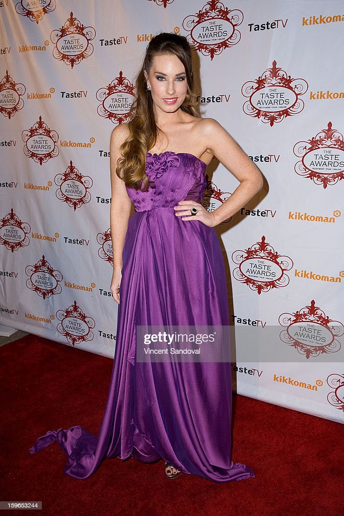 Actress Lauren Elaine attends the 4th annual Taste Awards at Vibiana on January 17, 2013 in Los Angeles, California.