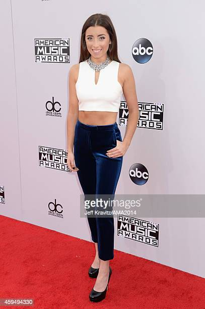 Actress Lauren Elizabeth attends the 2014 American Music Awards at Nokia Theatre L.A. Live on November 23, 2014 in Los Angeles, California.