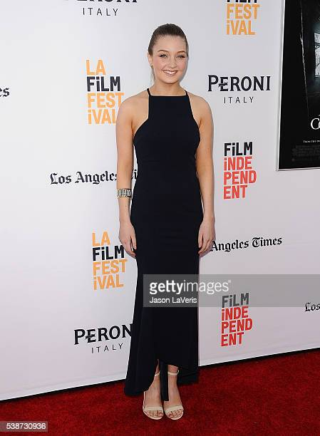 Actress Lauren Esposito attends the premiere of The Conjuring 2 at the 2016 Los Angeles Film Festival at TCL Chinese Theatre IMAX on June 7 2016 in...