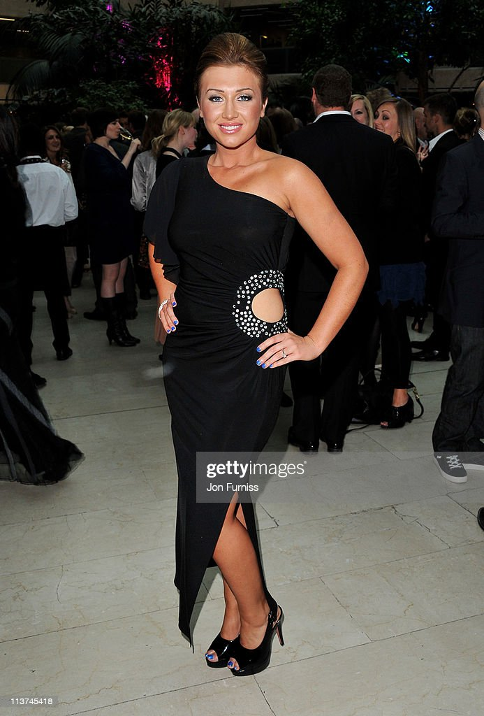Actress Lauren Goodger attends the nominees party for 'The Philips British Academy Television and British Academy Television Craft Awards' at Coutts Bank on May 5, 2011 in London, England.