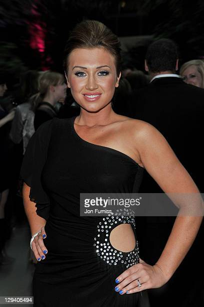 Actress Lauren Goodger attends the nominees party for 'The Philips British Academy Television and British Academy Television Craft Awards' at Coutts...