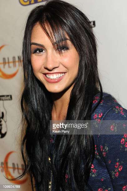 Actress Lauren Gottlieb arrives at the Lost Planet 2 Lounge at The Roosevelt Hotel on May 6 2010 in Hollywood California