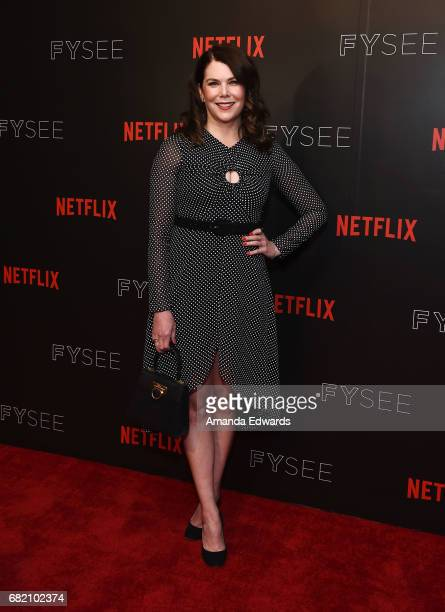 Actress Lauren Graham arrives at the Netflix Gilmore Girls A Year In The Life For Your Consideration Event at the Netflix FYSee Space on May 11 2017...