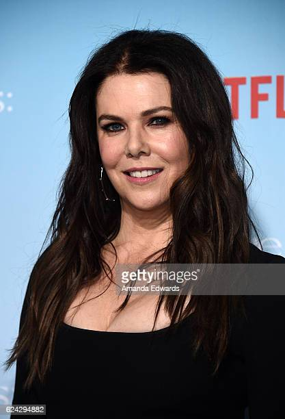Actress Lauren Graham arrives at the premiere of Netflix's 'Gilmore Girls A Year In The Life' at the Regency Bruin Theatre on November 18 2016 in Los...