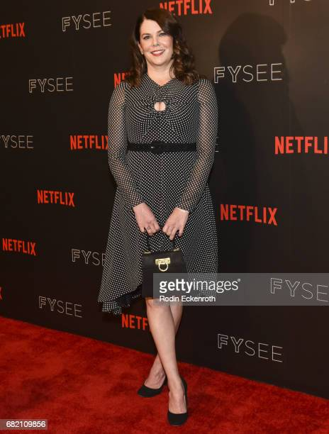 Actress Lauren Graham attends Gilmore Girls A Year in the Life For Your Consideration Event at Netflix FYSee Space on May 11 2017 in Beverly Hills...