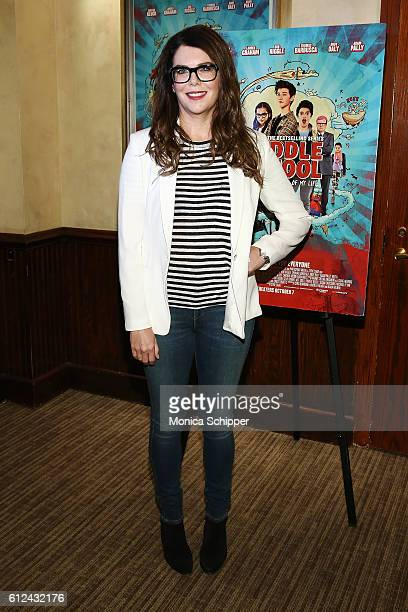 Actress Lauren Graham attends 'Middle School The Worst Years of My Life' Mamarazzi Screening at Tribeca Screening Room on October 4 2016 in New York...