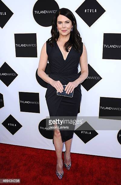 Actress Lauren Graham attends the 2015 TV LAND Awards at Saban Theatre on April 11 2015 in Beverly Hills California