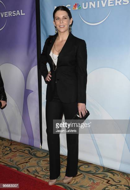 Actress Lauren Graham attends the NBC Universal press tour cocktail party at The Langham Resort on January 10 2010 in Pasadena California