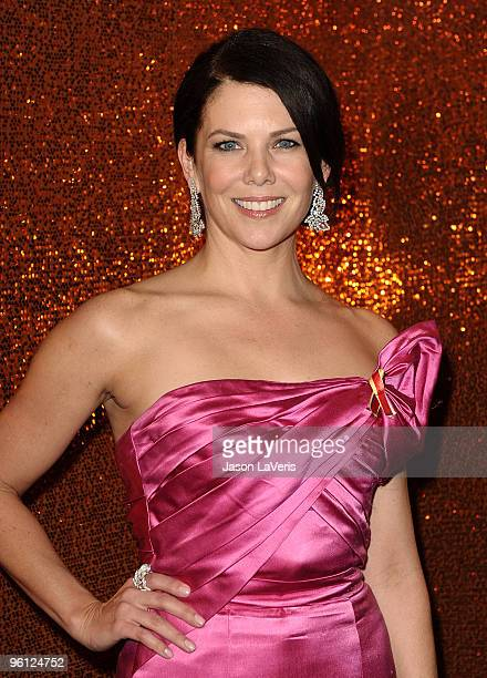 Actress Lauren Graham attends the official HBO after party for the 67th annual Golden Globe Awards at Circa 55 Restaurant at the Beverly Hilton Hotel...