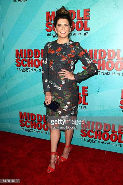 Actress Lauren Graham attends the premiere of CBS Films' 'Middle School The Worst Years Of My Life' at TCL Chinese 6 Theatres on October 5 2016 in...