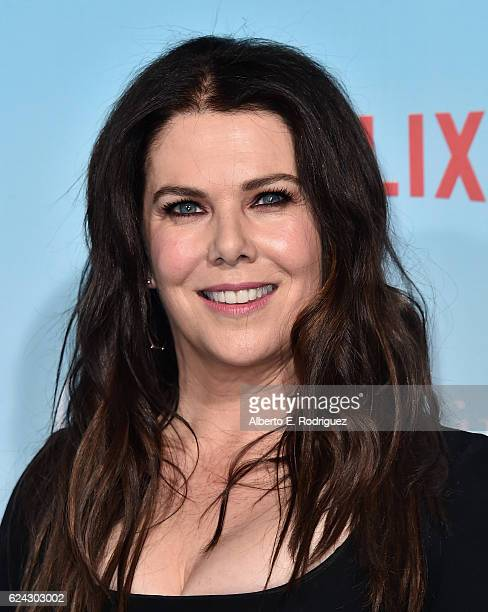Actress Lauren Graham attends the premiere of Netflix's Gilmore Girls A Year In The Life at the Regency Bruin Theatre on November 18 2016 in Los...