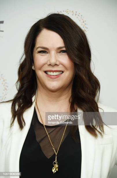 Actress Lauren Graham attends the Women In Entertainment's 4th Annual Summit at the Skirball Cultural Center on October 11 2018 in Los Angeles...