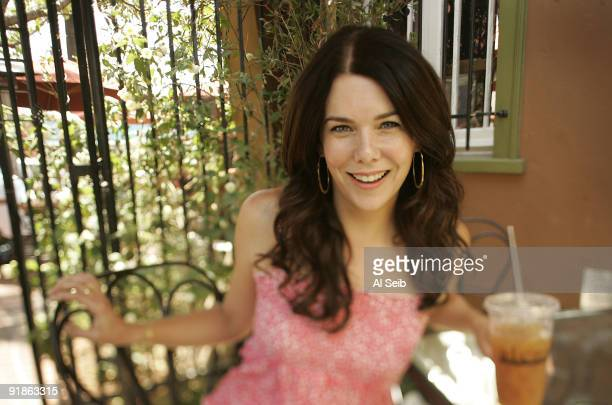 Actress Lauren Graham is photographed at the Alcove Restaurant in the Los Feliz neighborhood of Los Angeles for the Los Angeles Times CREDIT MUST...