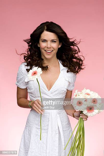 Actress Lauren Graham is photographed for Capitol File Magazine in 2007 in Los Angeles California PUBLISHED IMAGE