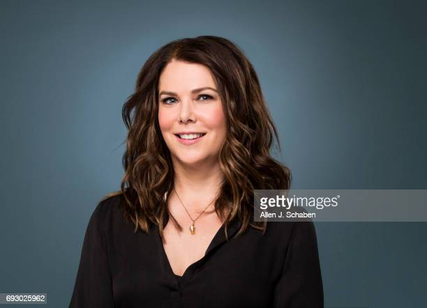 Actress Lauren Graham is photographed for Los Angeles Times on May 24 2017 in Los Angeles California PUBLISHED IMAGE CREDIT MUST READ Allen J...