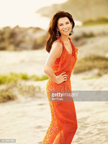 Actress Lauren Graham is photographed for More Magazine on November 9 2009 in Los Angeles California COVER IMAGE