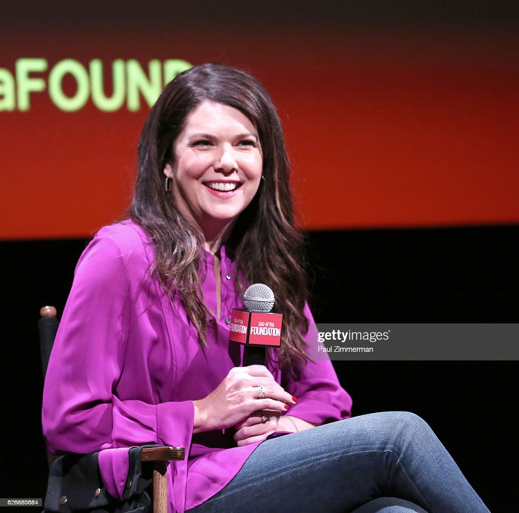 SAG-AFTRA Foundation Conversations: 'Gilmore Girls: A Year In The Life' : News Photo